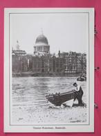 Visuel Très Peu Courant - Angleterre - London - Thames Waterman - Bankside - Scans Recto-verso - River Thames