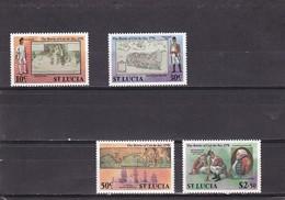 Santa Lucia Nº 444 Al 447 - St.Lucia (1979-...)