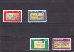 Santa Lucia Nº 481 Al 484 - St.Lucia (1979-...)