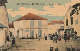 Le Temple Sur Lot - Place De La Halle - Autres Communes