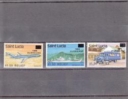 Santa Lucia Nº 520 Al 522 - St.Lucia (1979-...)