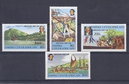 190031755   IMP.  CENTROAFRICANO  YVERT    Nº  342/5    **/MNH - Central African Republic