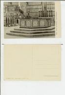 Pisa: Interno Del Battistero - Fonte Battesimale. Cartolina Fp Inizio '900 - Pisa