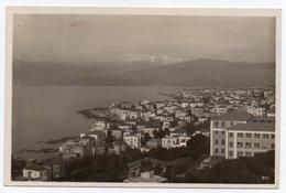 LIBAN/LEBANON - BEYROUTH/BEIRUT- VIEW (ED.C.M.& S.) /CIRCULATED TO GERMANY 1933 - Libano