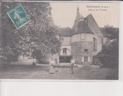 28. Pontgoin. Chateau Des Tourelles. Carte Animée - Ohne Zuordnung