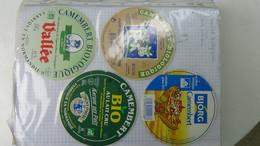 Grosse Collection De Couvercles Et étiquettes (186 Dans Ce Classeur) De Fromages Français.8/10 Voir Commentaires !!! - Fromage