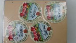 Grosse Collection De Couvercles Et étiquettes (177 Dans Ce Classeur) De Fromages Français.9/10 Voir Commentaires !!! - Cheese