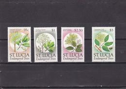 Santa Lucia Nº 954 Al 957 - St.Lucia (1979-...)