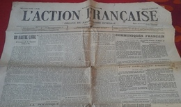 WW1 L'Action Française 23 Août 1916 Léon Daudet Charles Maurras Organe Du Nationalisme Intégral - Newspapers