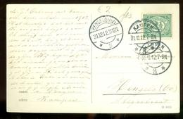 MILITAIR * BRIEFKAART Uit 1912 * GELOPEN Van HENGELO Naar KAMPEN  (11.558b) - Periode 1891-1948 (Wilhelmina)