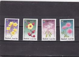 Santa Lucia Nº 1090 Al 1093 - St.Lucia (1979-...)