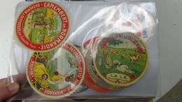 Grosse Collection De Couvercles Et étiquettes (259 Dans Ce Classeur) De Fromages Français. 10/10 Voir Commentaires !!! - Cheese