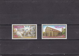 Santa Lucia Nº 1109 Al 1110 - St.Lucia (1979-...)