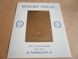 Miniature Sheet Napoleon 150th Anniversary 1971 - Togo (1960-...)