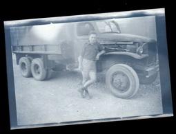 Negatif Photo  Camion GMC Algérie - Cameras