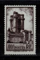 YV 393 N** Vincennes Cote 6 Euros - Francia