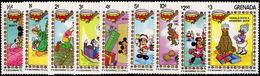 Grenada 1983 Christmas, Disney Characters Unmounted Mint. - Grenada (1974-...)