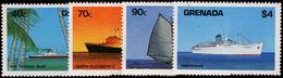 Grenada 1984 Ships Unmounted Mint. - Grenade (1974-...)