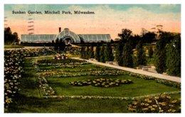 Wisconsin Milwaukee , Mithcell Park , Sunken Garden - United States