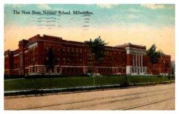 Wisconsin  Milwaukee , New State Normal School - Milwaukee