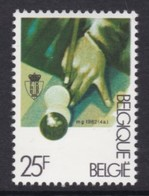 TIMBRE NEUF DE BELGIQUE - PHASE DU JEU DE BILLARD N° Y&T 2043 - Games