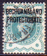 1902 BECHUANALAND Protectorate SG 60 ½d Blue-green Used - Bechuanaland (...-1966)