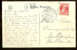 BRIEFKAART Uit 1911 * GELOPEN Van BELGIE Naar DEN HAAG  (11.558g) - 1910-1911 Caritas