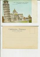 Pisa: Parte Posteriore Della Cattedrale, Il Campanile E Il Camposanto. Fine '800 - Pisa