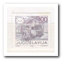 Joegoslavië 1986, Postfris MNH, Postman With Car - Ongebruikt