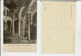 Pisa: Duomo Interno Per Alto Preso Da Altro Punto. Cartolina Fp Inizio '900 - Pisa