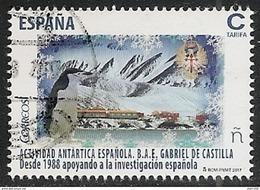 2017-ED. 5118 SERIE COMPLETA- Actividad Antartica Española. B.A.E.Gabriel De Castilla -USADO - 1931-Tegenwoordig: 2de Rep. - ...Juan Carlos I