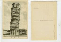 Pisa: Il Campanile. Cart. Fp Anni '20-'30 - Pisa