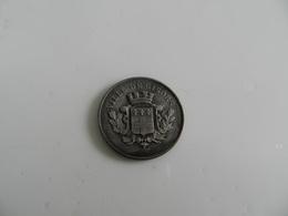 Jeton   Caisse   D épargne  Ville De Gisors   Fondée En 1835   En Argent  15,05  Grammes - Autres