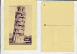 Pisa: Il Campanile. Cartolina Fp Inizio '900 (colore Viola) - Pisa