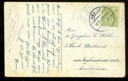 POSTKAART Uit 1917 * GELOPEN Van ANDIJK Naar AMSTERDAM  (11.558h) - Periode 1891-1948 (Wilhelmina)