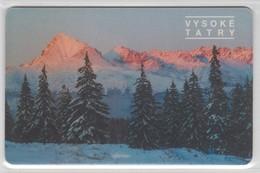 SLOVAKIA 2002 VYSOKE TATRY HIGH TATRA MOUNTAINS - Montagnes