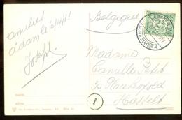 POSTKAART Uit 1911 * GELOPEN Van AMSTERDAM Naar HASSELT  (11.558k - Periode 1891-1948 (Wilhelmina)