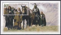 Neuseeland New Zealand 2002 Kultur Culture Film Kino Cinema Herr Der Ringer Literatur Literature Tolkien, Bl. 144 ** - Neuseeland