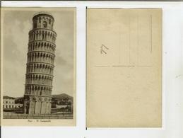 Pisa: Il Campanile. Cartolina Fp Anni '20-'30 - Pisa