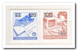 Joegoslavië 1988, Postfris MNH, Postal Service - Ongebruikt