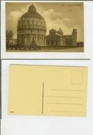 Pisa: Piazza Del Duomo. Cartolina Fp Inizio '900 - Pisa