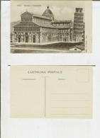 Pisa: Duomo E Campanile. Cartolina Fp Inizio '900 - Pisa