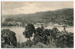CARTOLINA SRI LANKA CEYLON KANDY GENERAL VIEW - Sri Lanka (Ceylon)