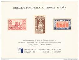 España HR 37 - Blocs & Hojas