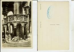 Pisa: Interno Duomo - Il Pergamo Di G. Pisano. Cartolina Fp Anni '30 - Pisa