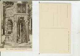 Pisa: Cattedrale - Pulpito (Giovanni Pisano). Cartolina Fp Inizio '900 - Pisa