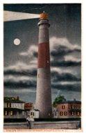 New Jersey Atlantic City , Absecon Light House At Night - Atlantic City
