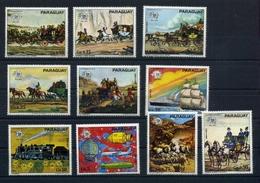 Paraguay MiNr. 2556-65 Postfrisch MNH UPU (OZ1160 - Paraguay