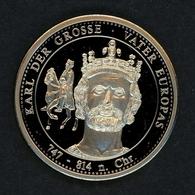 "1999 Medaille ""Karl Der Große"" Neusilber PP (M1537 - Unclassified"