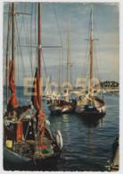 La Trinité-sur-Mer (56) Bateaux De Plaisance Au Mouillage, écrite - Altri